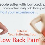 Liem Acupuncture can help to release your Lower Back Pain